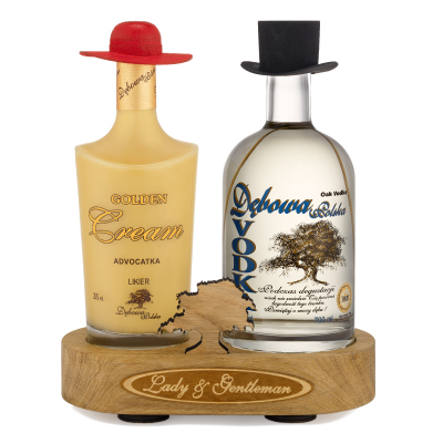 Crème Dorée & Vodka Debowa Lady & Gentlemen
